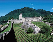 The 3 Unesco castles of Bellinzona