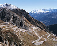 Tremola road (Val Tremola)