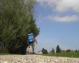 Wandern auf dem Jakobsweg Teil 1