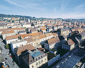 Ostereier suchen von Basel nach Genf…